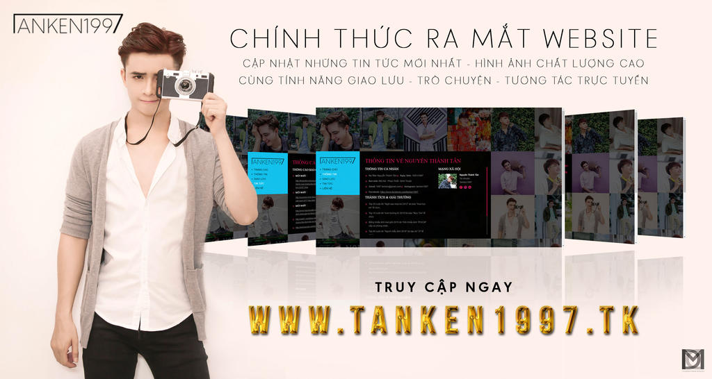 Nguyen Thanh Tan Debut Official Website Poster by duyyuki