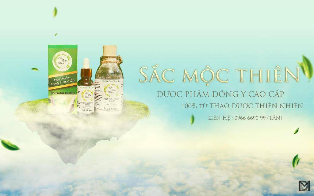 Sac Moc Thien Cosmetic Brand Design by duyyuki