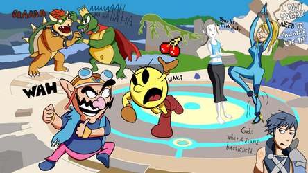 #DrawYourRosterUltimate by Behonkiss