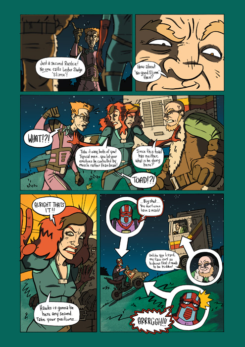 cereal:geek 07 preview page 4 by BustaToons
