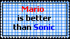 Better than Sonic Stamp by Traxxious