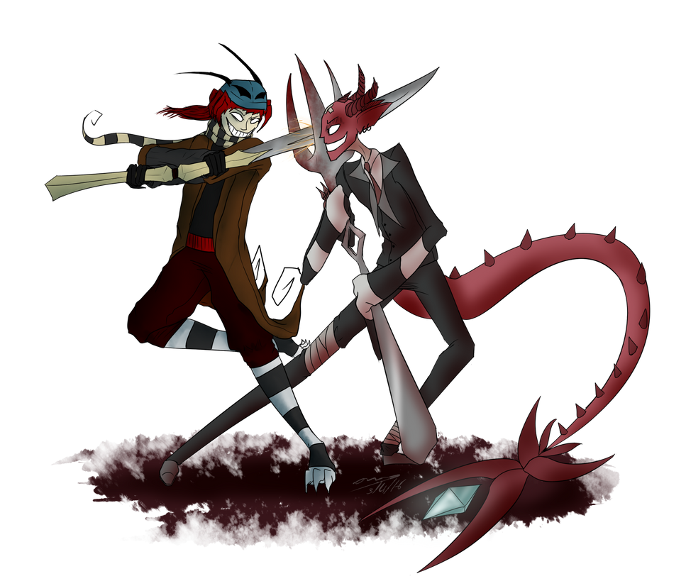 Waltzing Warriors by ChesterPalm