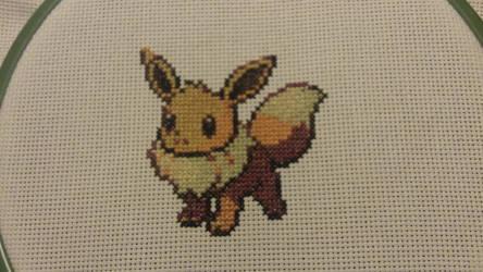 X-Stitch - Pokemon - Eevee