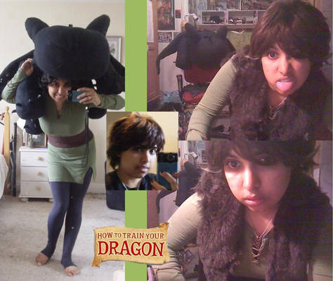 HTTYD - Hiccup wip +Toothless