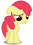 Apple Bloom - Saddened and Bow-less