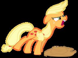 Applejack - Screaming and Yelling by CaliAzian