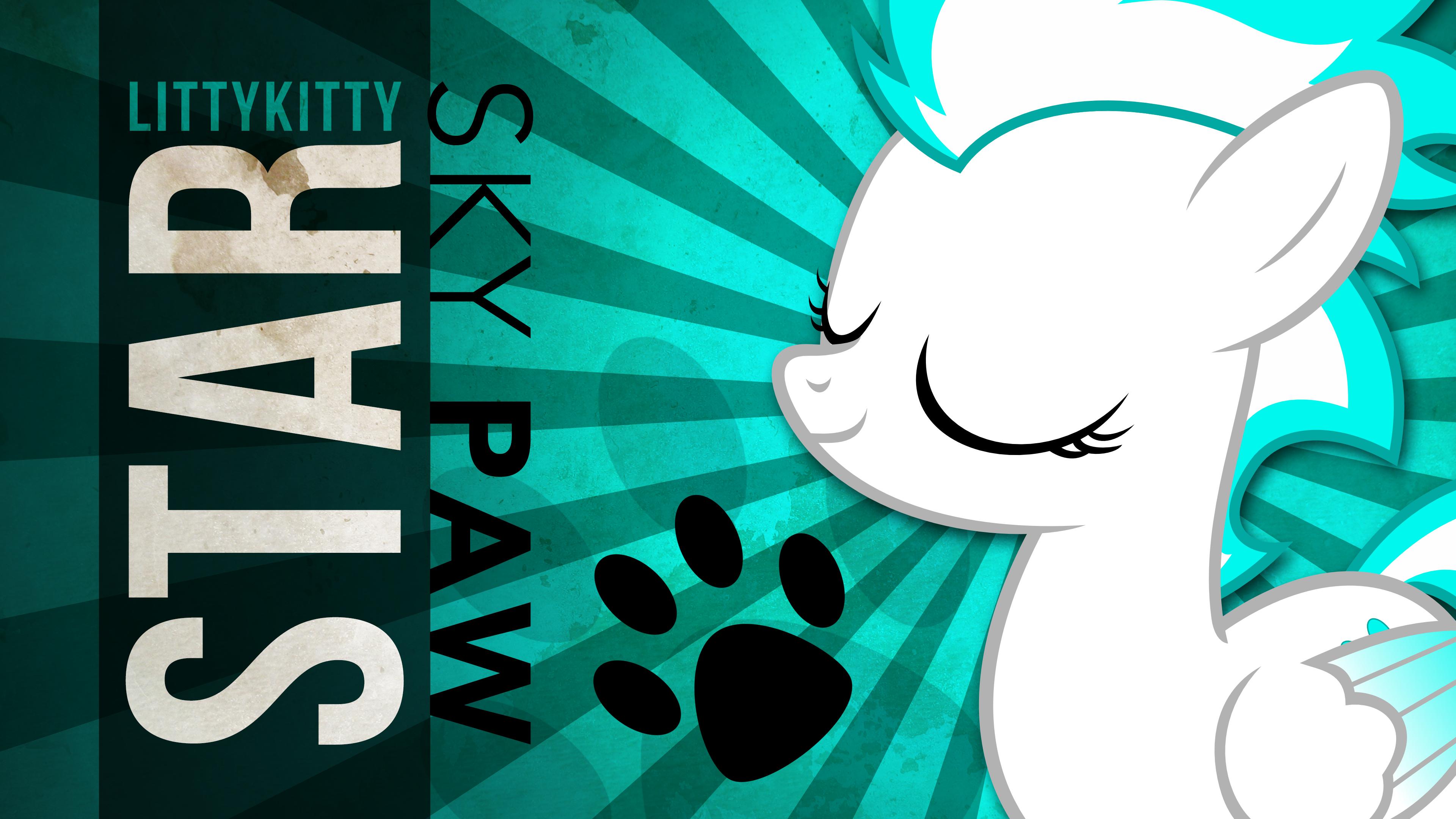 LittyKittyStar Wallpaper V1
