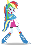 Rainbow Dash EqG: Wondercolts Pose