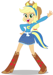 Applejack EqG: Wondercolts Pose
