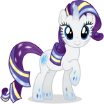 Rarity - Rainbowfied from Group Shot