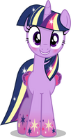 Twilight Sparkle - Rainbowfied from Group Shot