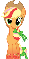 Applejack - Rainbowfied from Group Shot