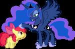 Princess Luna and AB - Like Yourself