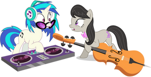 DJ-Pon-3 and Octavia - Going To Be Late