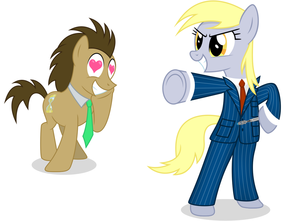Doctor Derpy and Dr. Whooves - Roleplayer by CaliAzian