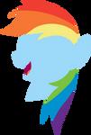 Rainbow Head Simple