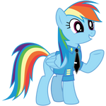 Rainbow Dash - Dress Uniform