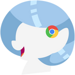 Chrome Pony Head Simple by CaliAzian