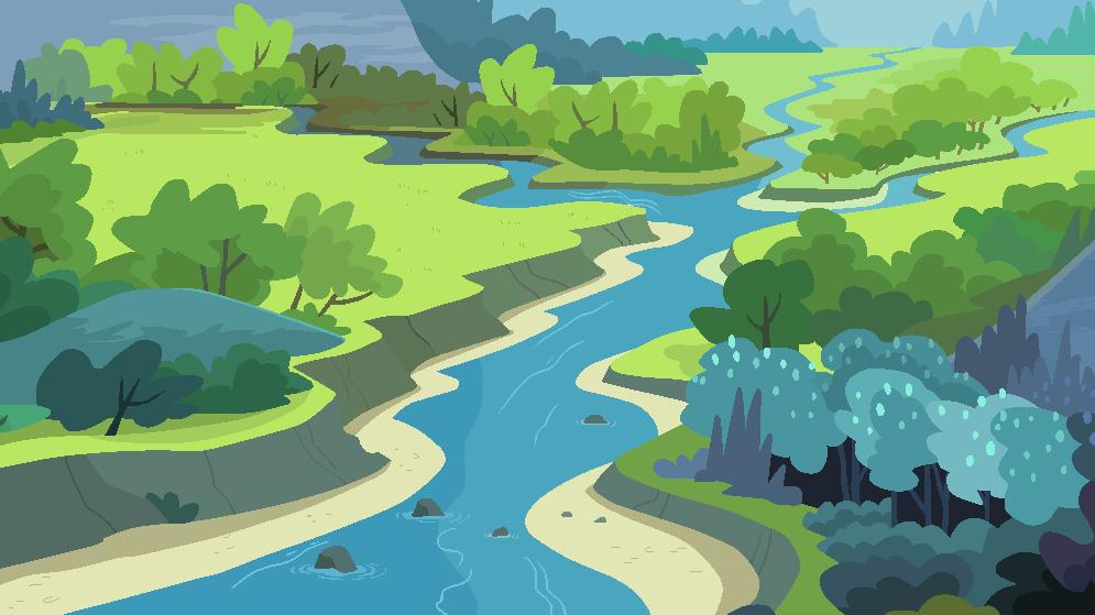 My Little Pony Landscape Background 1# by J-J-Bases