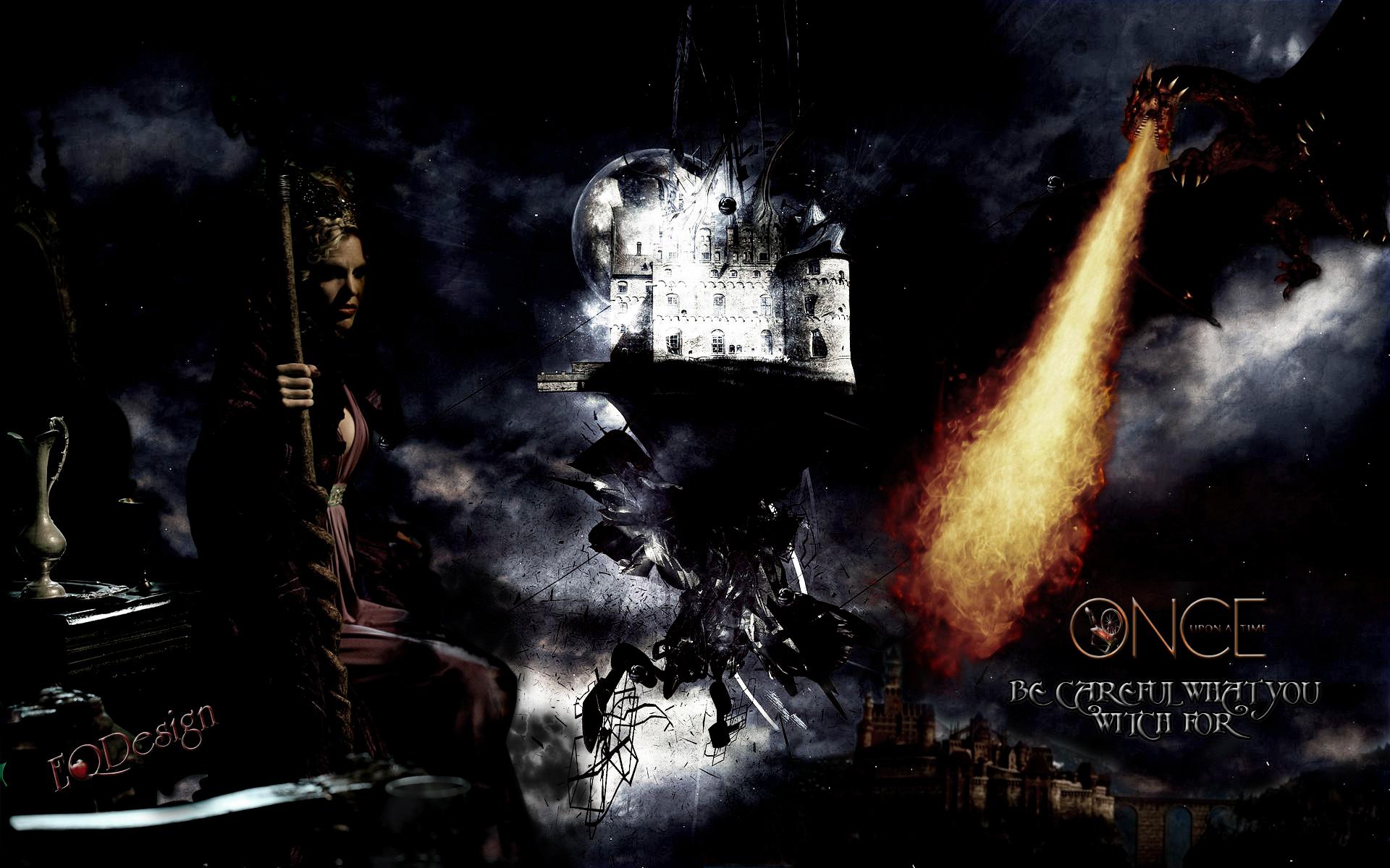 Kristin Bauer Van Straten Maleficent Wallpaper by eqdesign on
