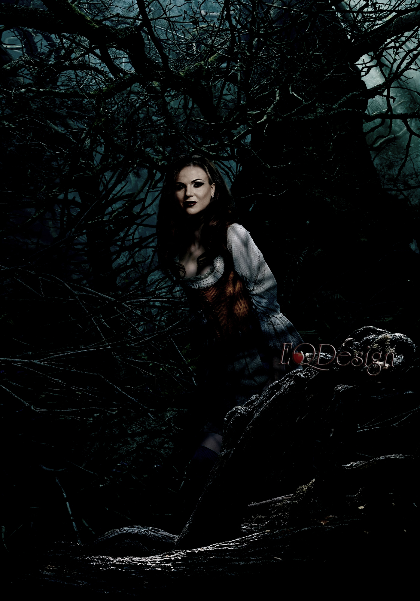 Regina Mills Into The Woods By Eqdesign On Deviantart