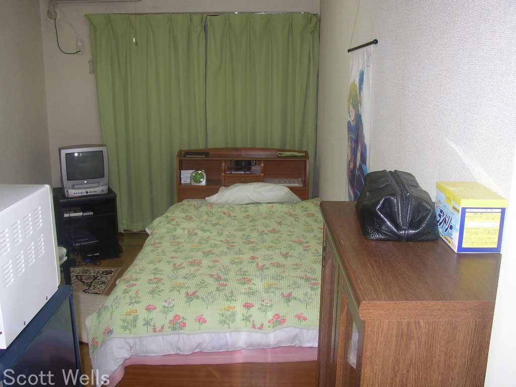 My bedroom in Japan