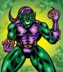 Grinning Green Goblin