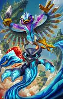 Skylanders: Fuel the Storm by KahzeArt