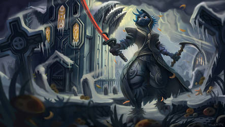 Dust the Raven by KahzeArt