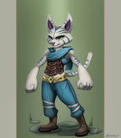 Cyril the Adventurer by KahzeArt