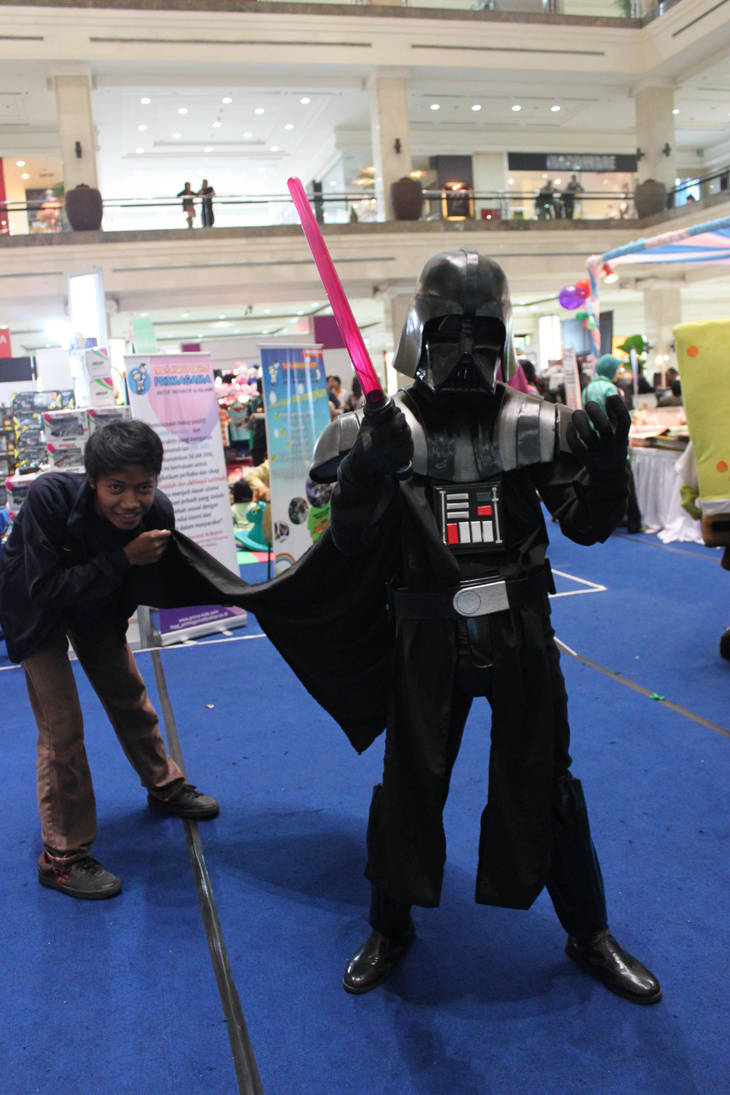 Darth Vader is come