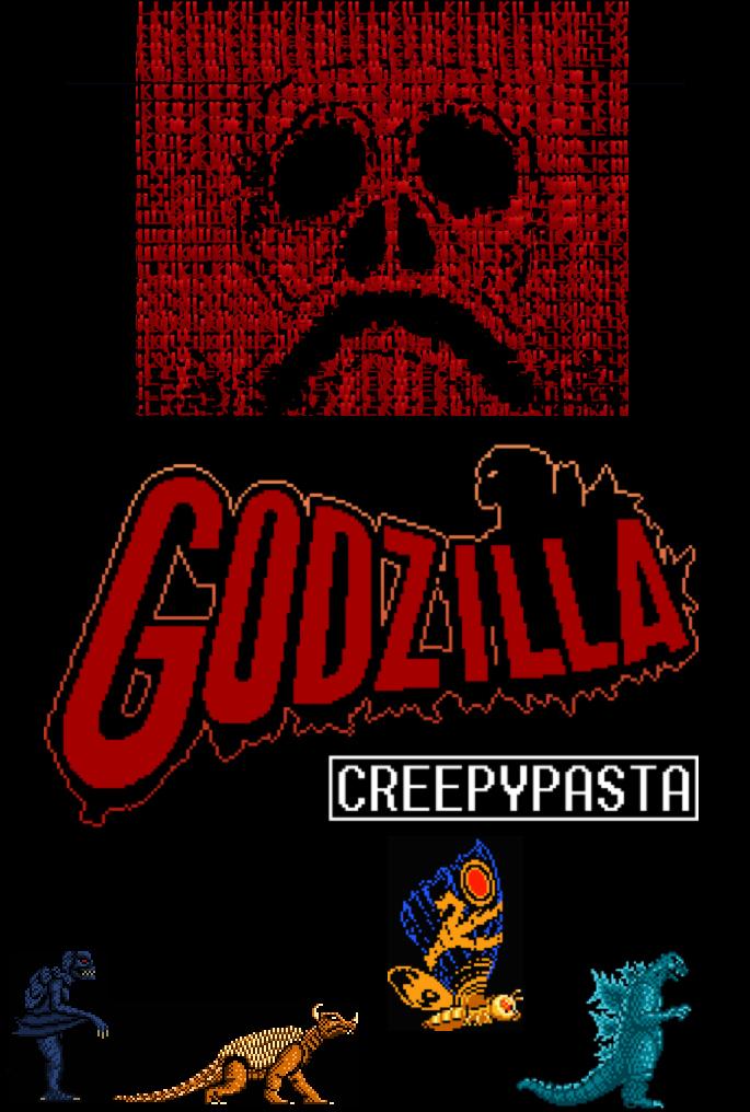 Nes Godzilla Creepypasta Poster By Sp Goji Fan On Deviantart