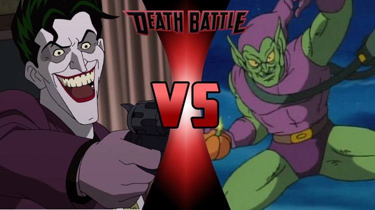 Death Battle Idea #4: Joker vs  Green Goblin by SP-Goji-Fan on