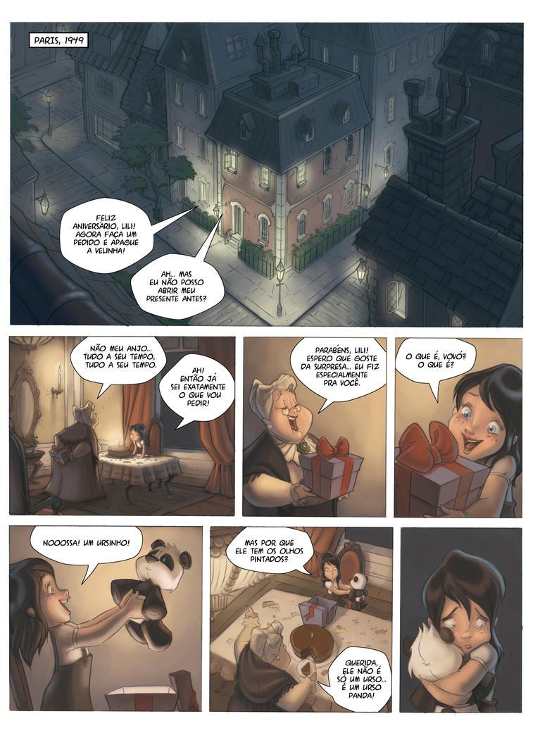 Fabulas of Aram page 1 by andersonmahanski