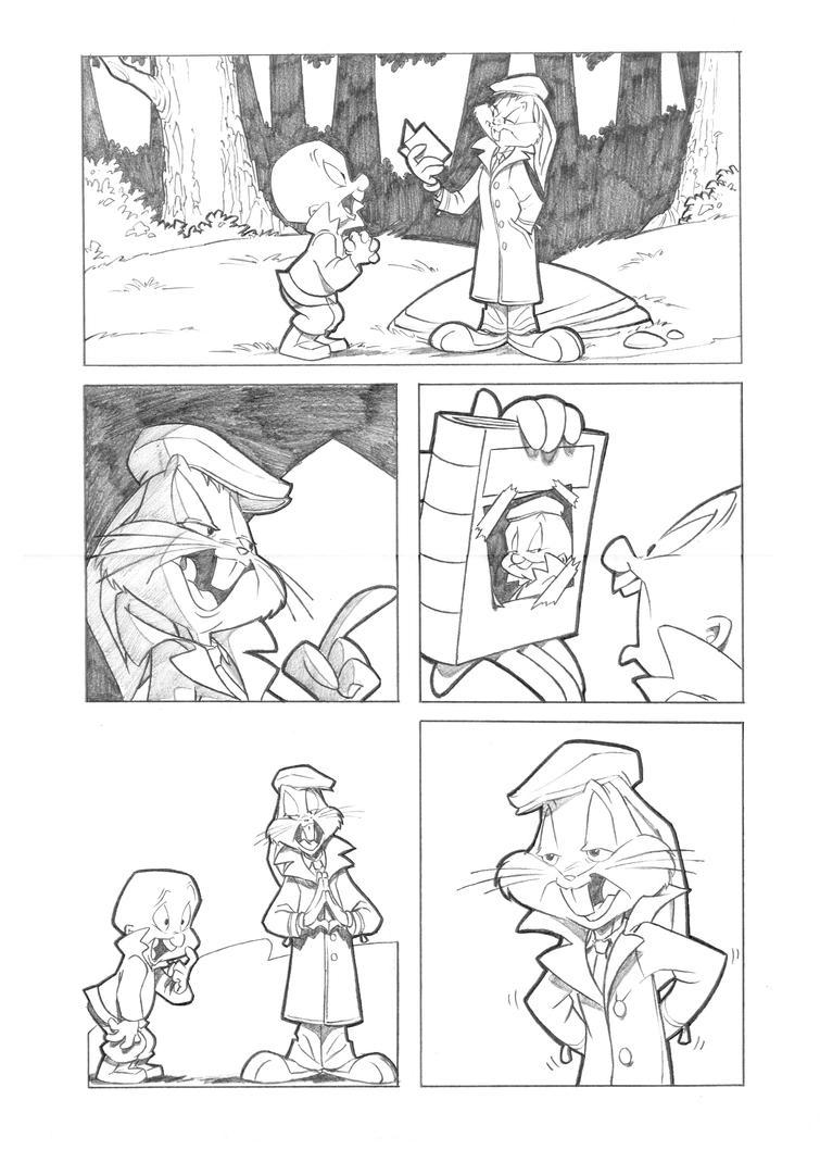 Looney Toones page 2 by andersonmahanski