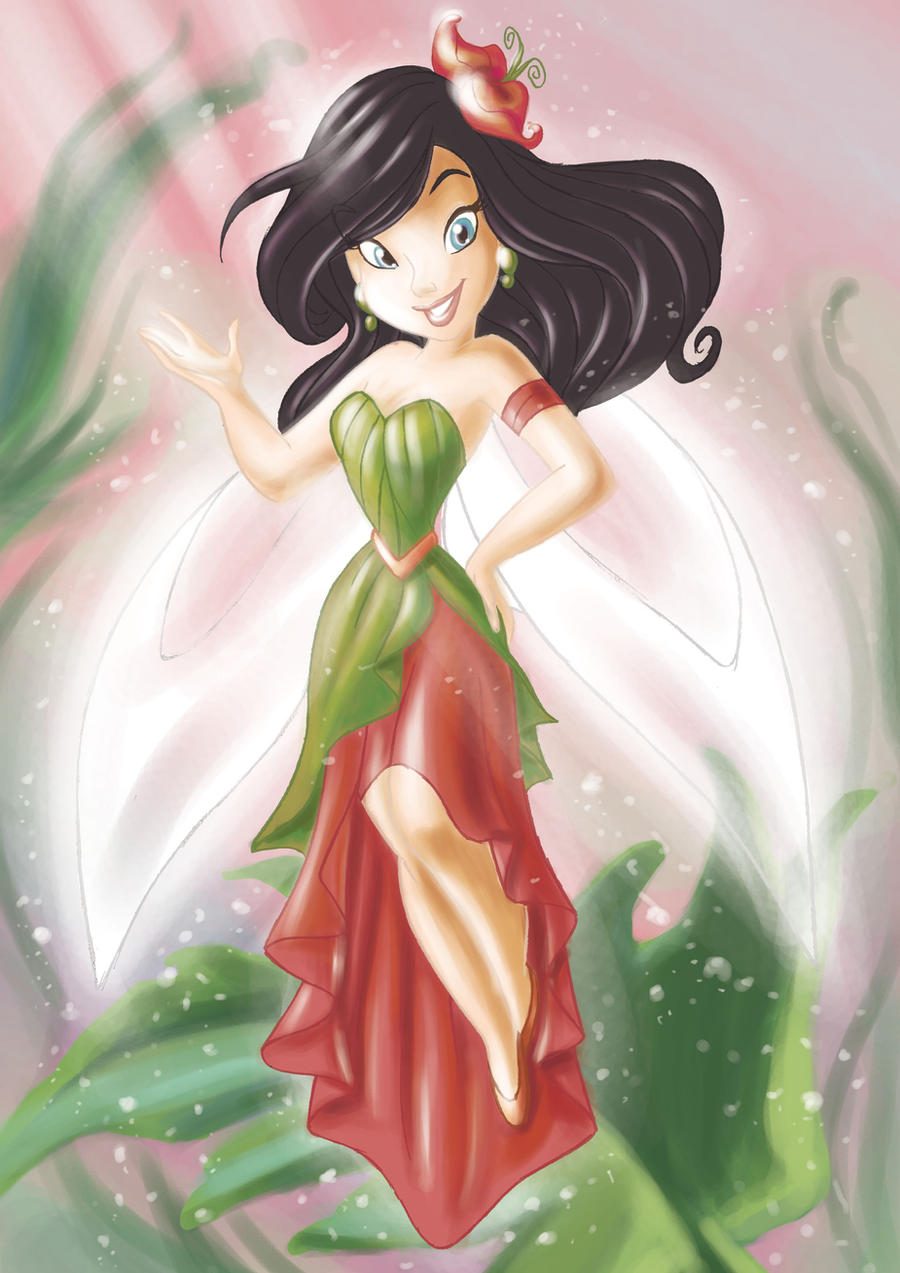 Elemental Girl by andersonmahanski