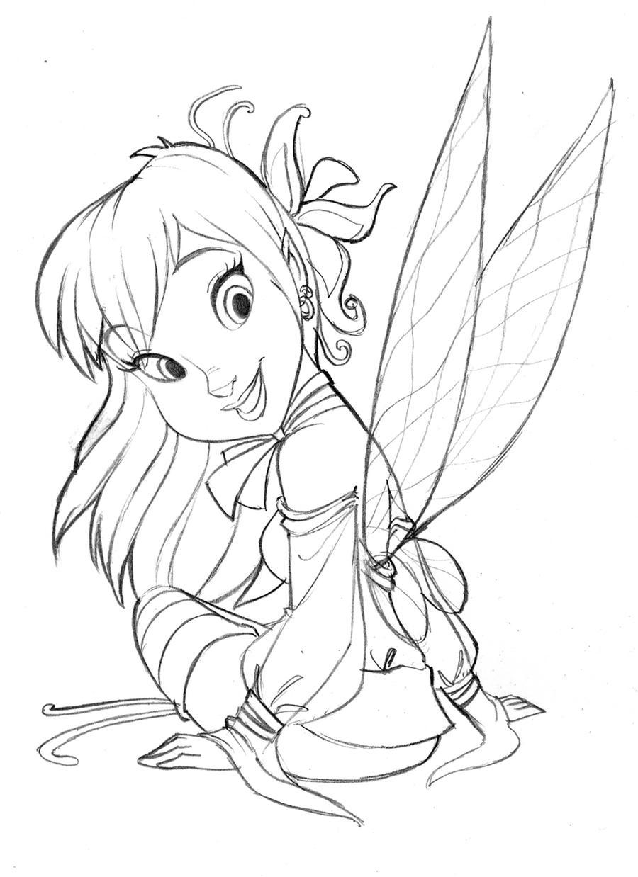 Fairie Pencil by andersonmahanski