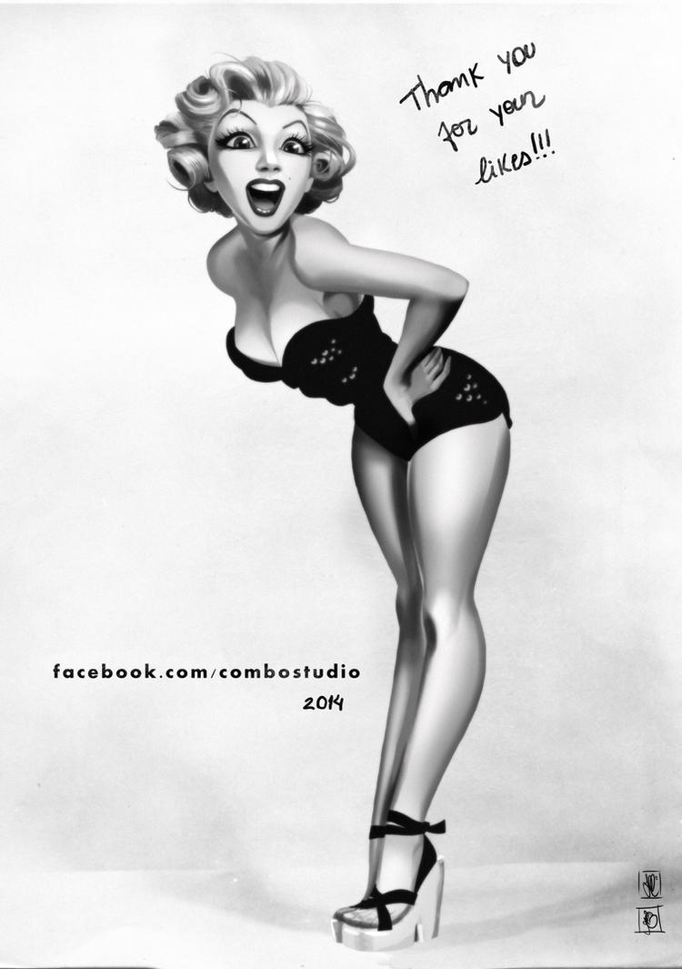 Marilyn by andersonmahanski
