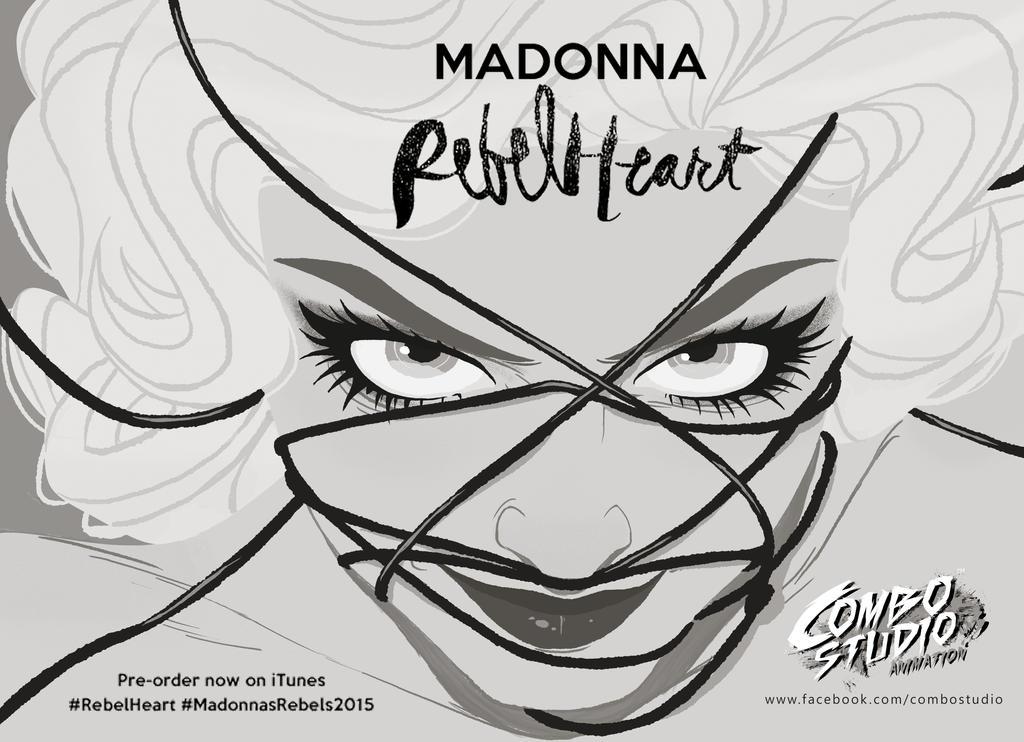 Madonna - RebelHeart by andersonmahanski