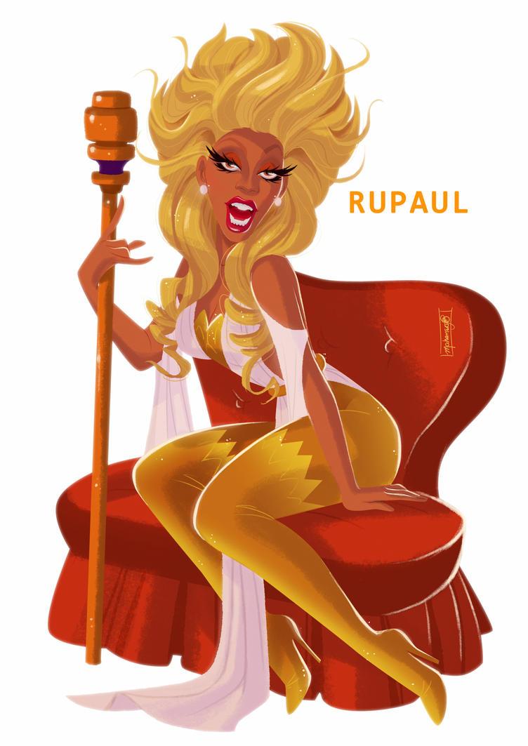 RuPaul by andersonmahanski
