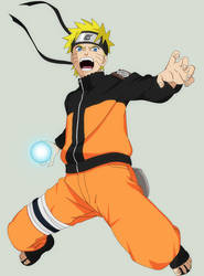 Naruto - Calender Colouring