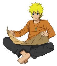 Naruto Anniversary Colouring