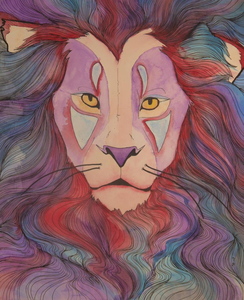 Lion by MackenzieBedford