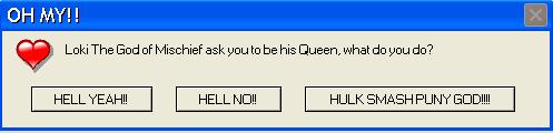 Loki Error Message by Leonah728