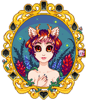 Oona Gem Portrait by Oh-My-Stars