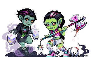 Orc Girls by Oh-My-Stars