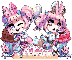 Bunny Songs and Sweet Treats by Oh-My-Stars