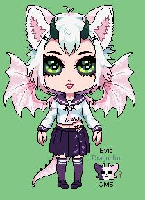 Evie the Dragonfox