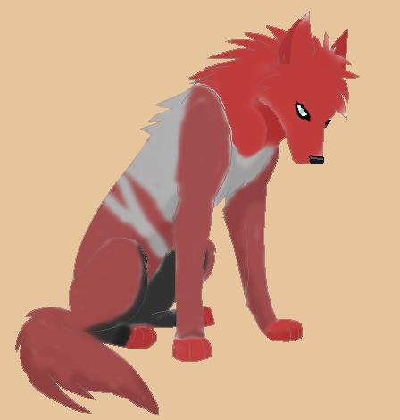 Gaara wolf by Piffsheep on DeviantArt Gaara As A Wolf