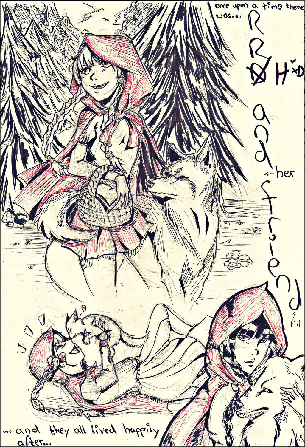 The Red Riding Hood by IStealYourCookiesx3